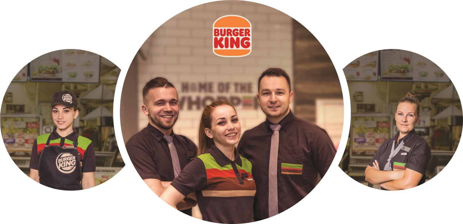 Pracownik restauracji Burger King  Aleja Krakowska